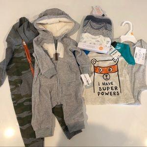 NWT - baby boy clothing bundle
